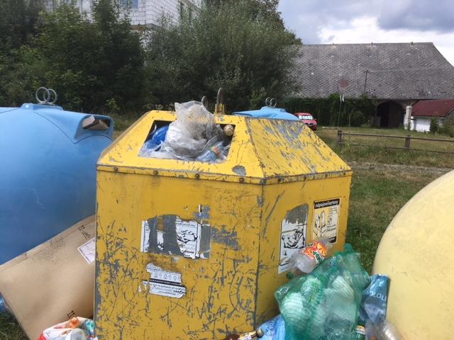Odpadový koutek Čachrov