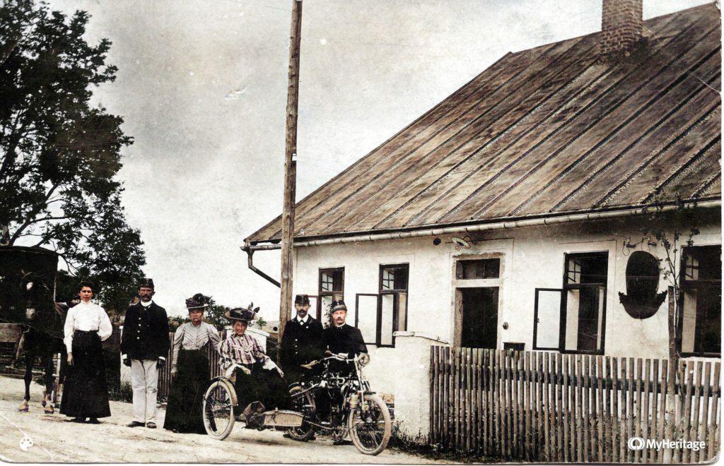Pošta mezi 1906-1910