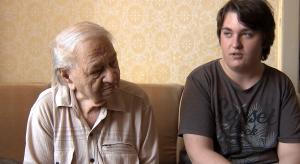 Ludvík Kučerka s vnukem